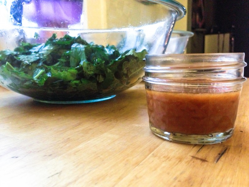 Basic Salmonberry Vinaigrette