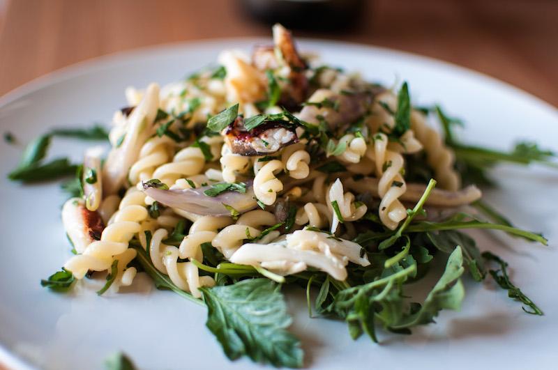 pasta salad crab 04